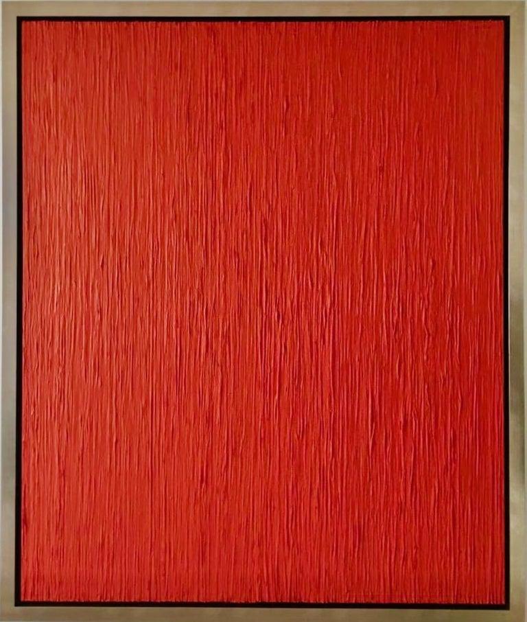 Red Rain Contemporary Mixed Media  - Mixed Media Art by Alexander Gore