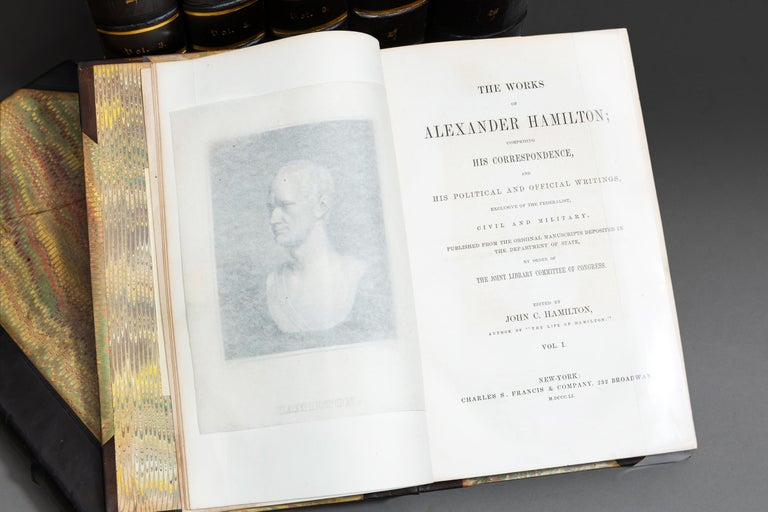 Alexander Hamilton, The Works In Good Condition For Sale In New York, NY
