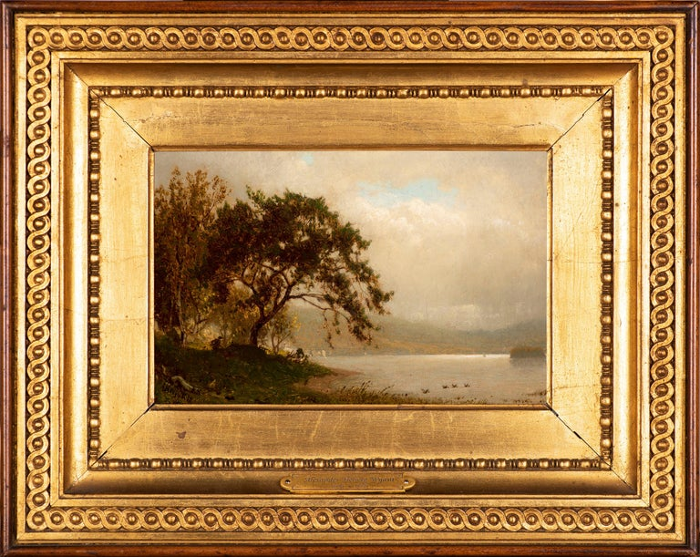 The Duck Hunter - Painting by Alexander Helwig Wyant