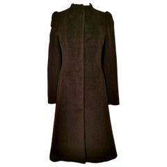 Alexander McQueen 1998 Mohair and Alpaca Joan Collection Coat