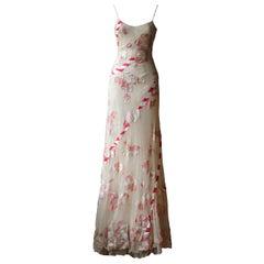 Alexander McQueen 2005 Appliquéd Tulle Gown