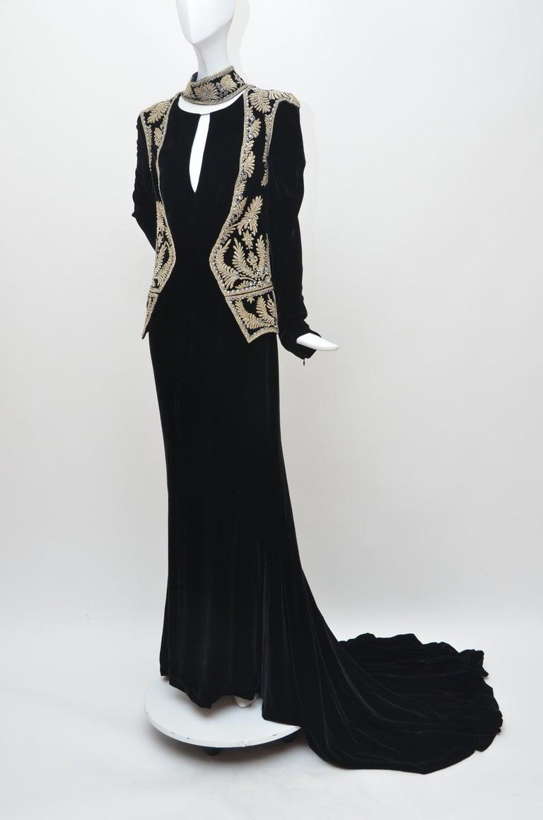 Black Alexander McQueen Vintage 2006