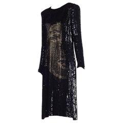 Alexander McQueen 2008 Isabella Blow Tribute Portrait Beaded Dress
