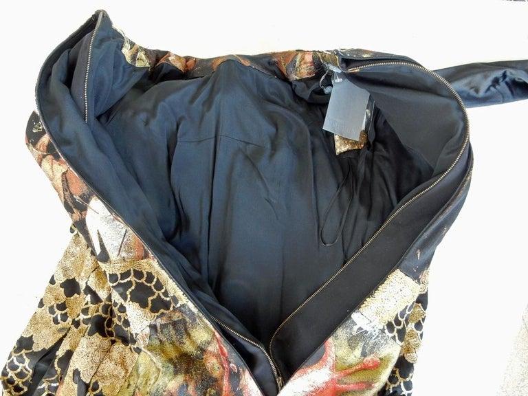Alexander McQueen 2010 Angels & Demons Collection Hieronymus Bosch Evening Dress For Sale 8