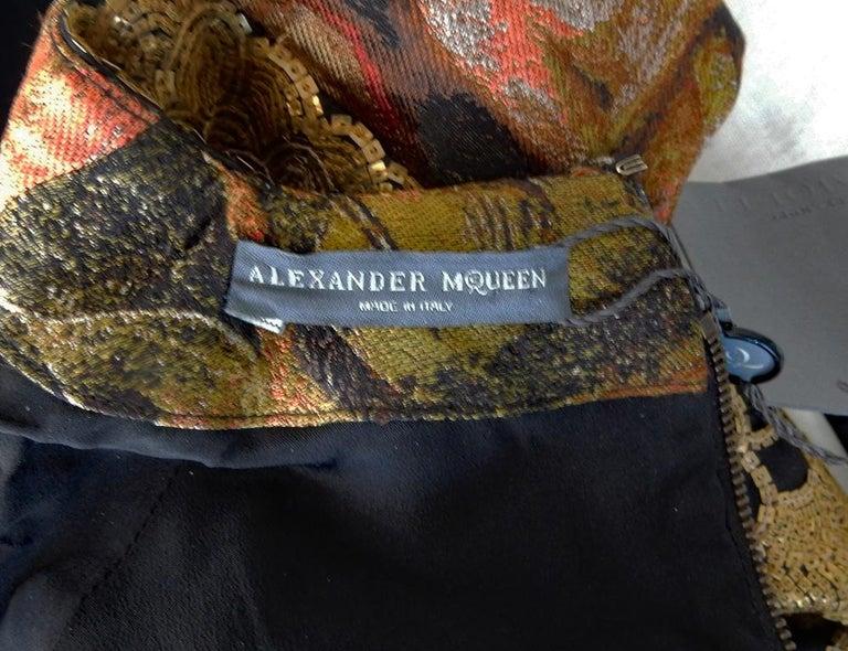 Alexander McQueen 2010 Angels & Demons Collection Hieronymus Bosch Evening Dress For Sale 9