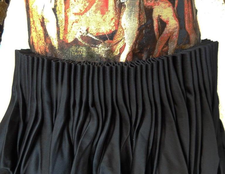 Alexander McQueen 2010 Angels & Demons Collection Hieronymus Bosch Evening Dress For Sale 4