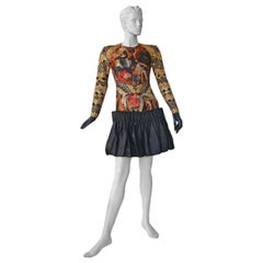 Alexander McQueen 2010 Angels & Demons Collection Hieronymus Bosch Evening Dress