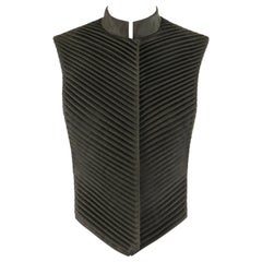 "ALEXANDER McQUEEN A/W 1999 ""The Overlook"" Chinese Armor Style Pleated Vest"