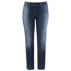 """ALEXANDER McQUEEN A/W 2005 """"The Man Who Knew Too Much"""" Straight Low Rise Jeans"""