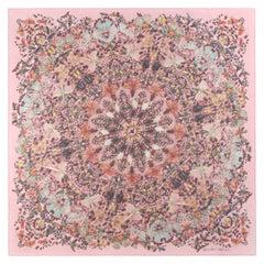 "ALEXANDER McQUEEN A/W 2013 Damien Hirst ""Judecca"" Insect Kaleidoscope Silk Scarf"