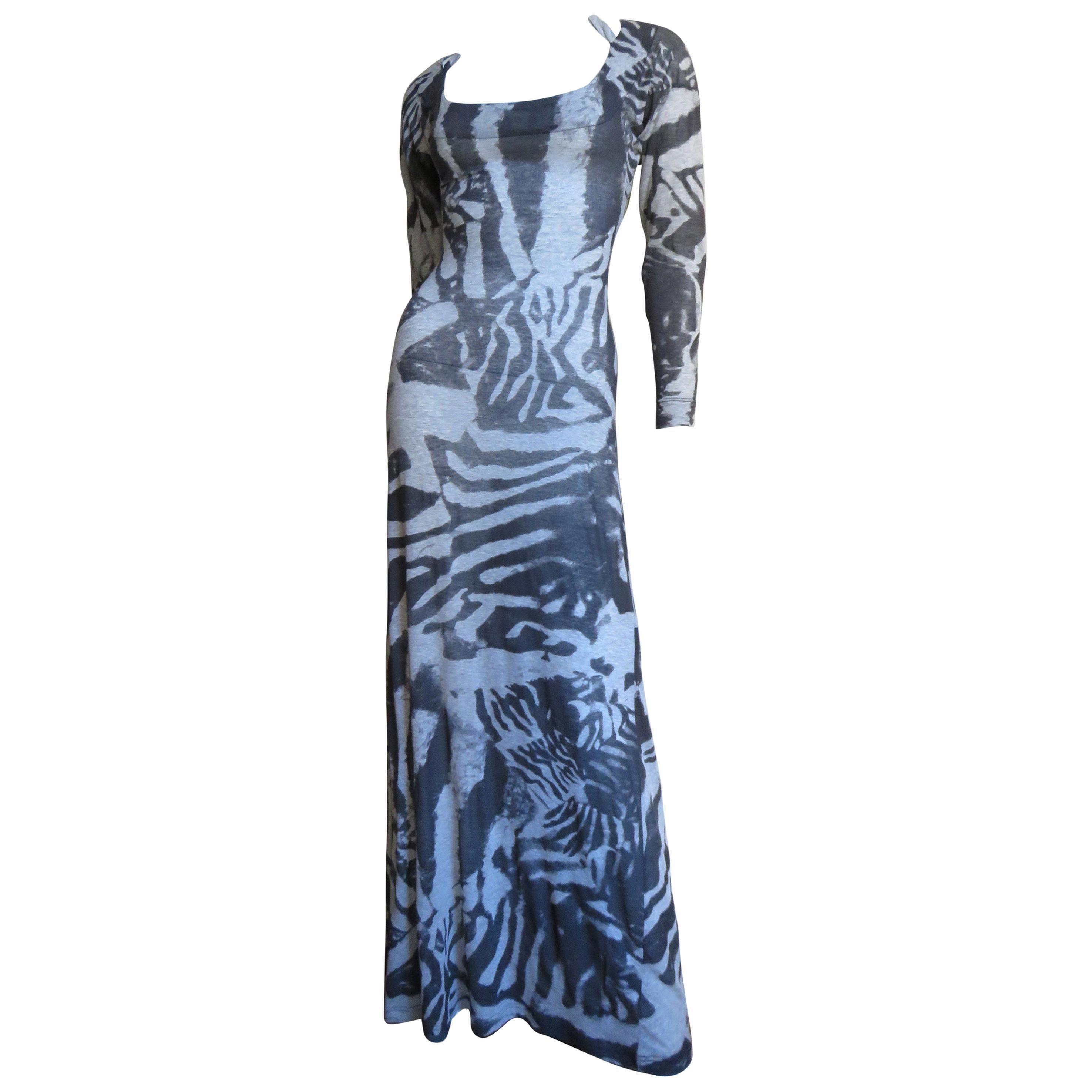 Alexander McQueen New Backless Maxi Dress