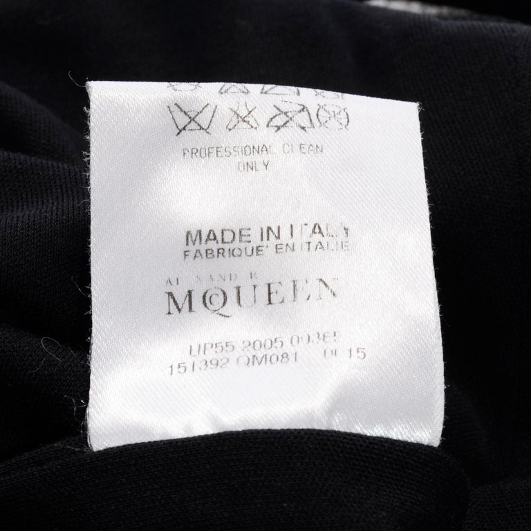 Alexander McQueen Black Dress With Low Lace Back 2005 The Man Who Knew Too Much For Sale 13