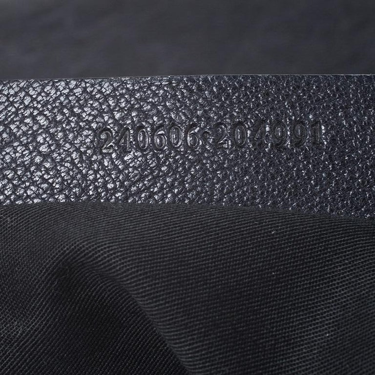 Alexander McQueen Black Leather Medium De Manta Clutch For Sale 5