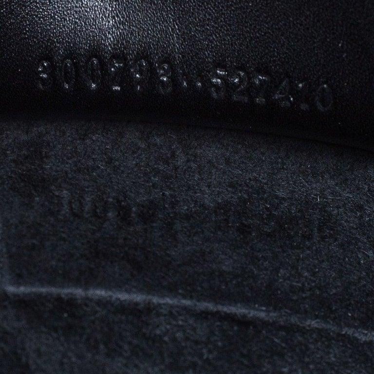 Alexander McQueen Black Leather Medium Heroine Tote For Sale 1