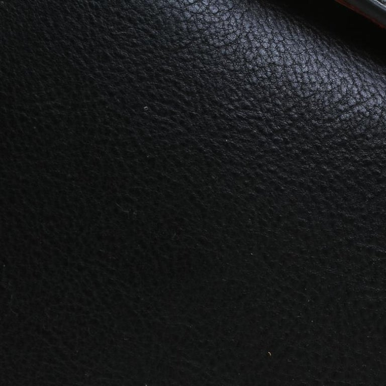Alexander McQueen Black Leather Mini Studded Box Shoulder Bag 3
