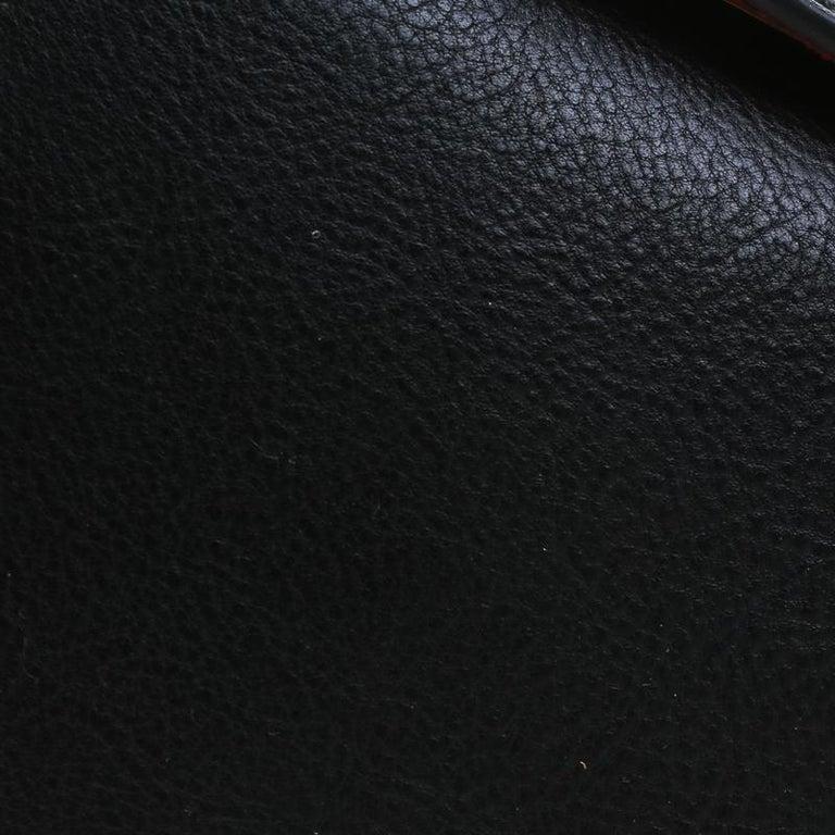 Alexander McQueen Black Leather Mini Studded Box Shoulder Bag For Sale 4