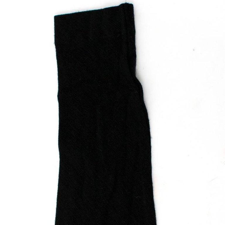 Alexander McQueen Black Ruched Zip Dress US 2 For Sale 6
