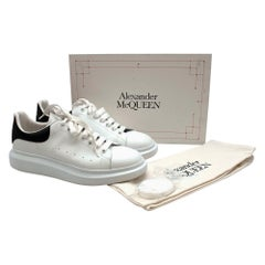 Alexander McQueen Black & White Oversized Sneaker - Size EU 47