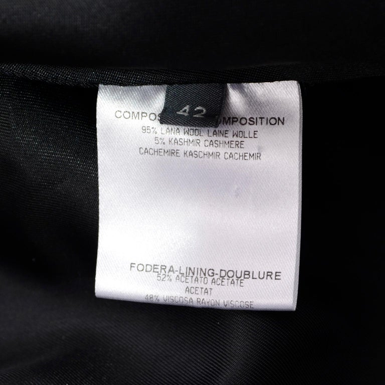 Alexander McQueen Black Wool Sculptured Jacket The Horn of Plenty Runway 2009  For Sale 12