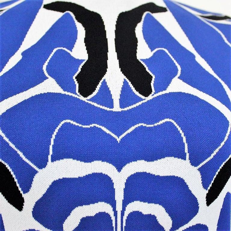 Alexander McQueen Blue Dress S In Excellent Condition For Sale In Gazzaniga (BG), IT