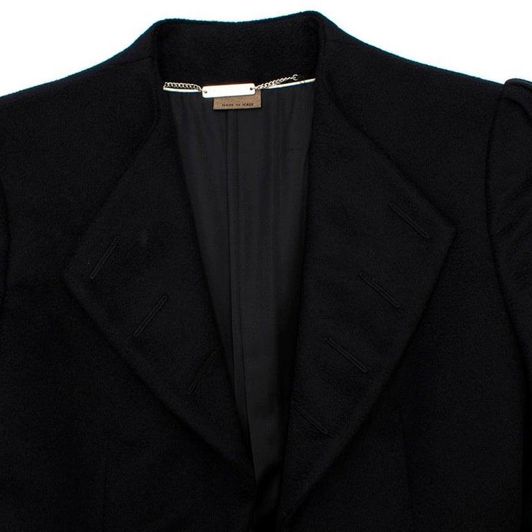 Alexander McQueen Botton Detail Coat US 4 For Sale 1