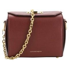 Alexander McQueen Box Shoulder Bag Leather 19