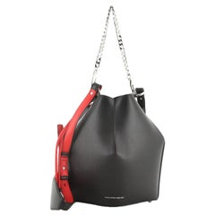 Alexander McQueen Bucket Bag Leather Medium