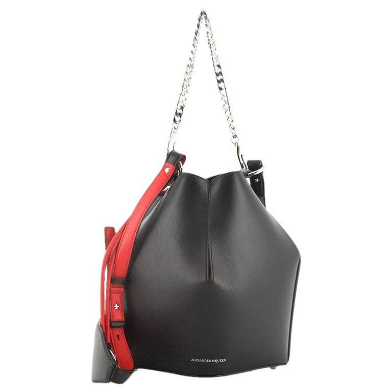 Alexander McQueen Bucket Bag Leather Medium