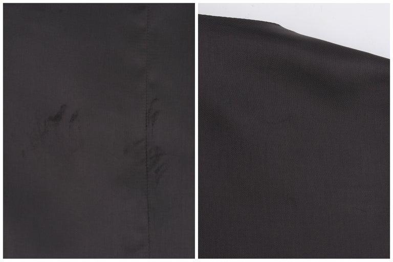 ALEXANDER McQUEEN c.2008 Savile Row Cashmere Women's Bumble Bee Detail Vest For Sale 6
