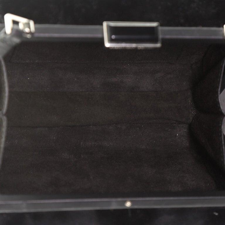 Women's or Men's Alexander McQueen Caged Box Bag Velvet