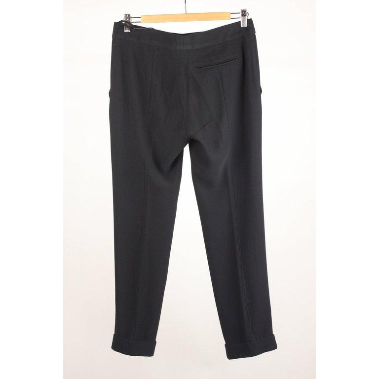 Black Alexander McQueen Classic Trousers Pants Size 40 For Sale