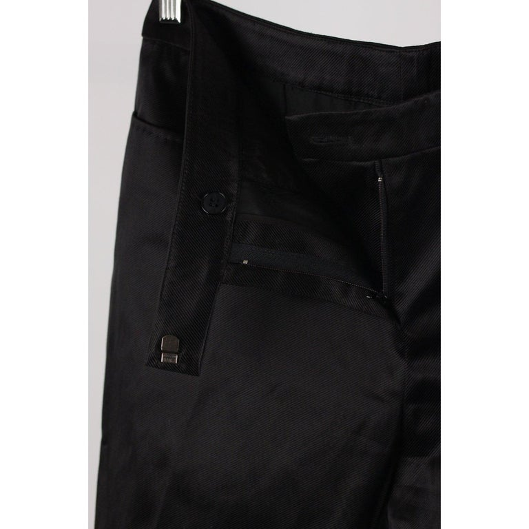 Black Alexander McQueen Classic Trousers Pants Size 40 For Sale