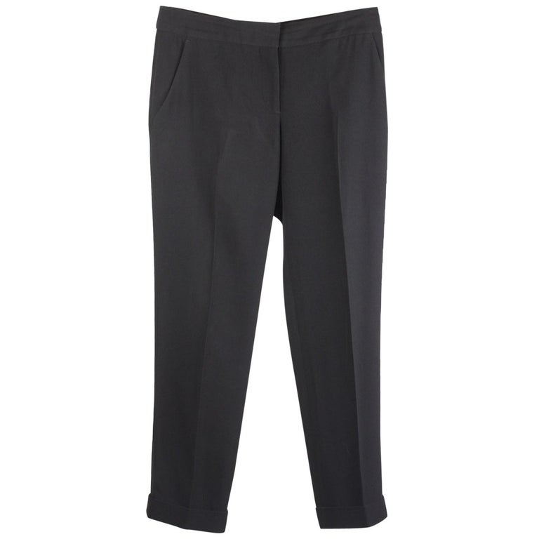 Alexander McQueen Classic Trousers Pants Size 40 For Sale