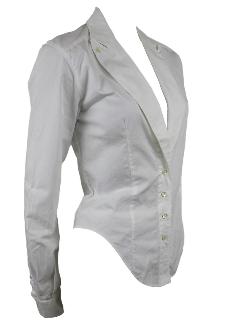 Alexander McQueen Early Collection Fitted Blouse/Jacket In Good Condition For Sale In Bath, GB