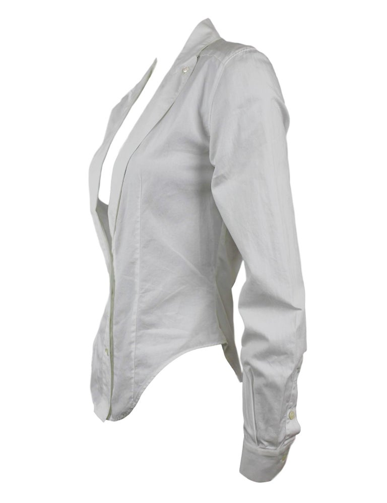 Alexander McQueen Early Collection Fitted Blouse/Jacket For Sale 1