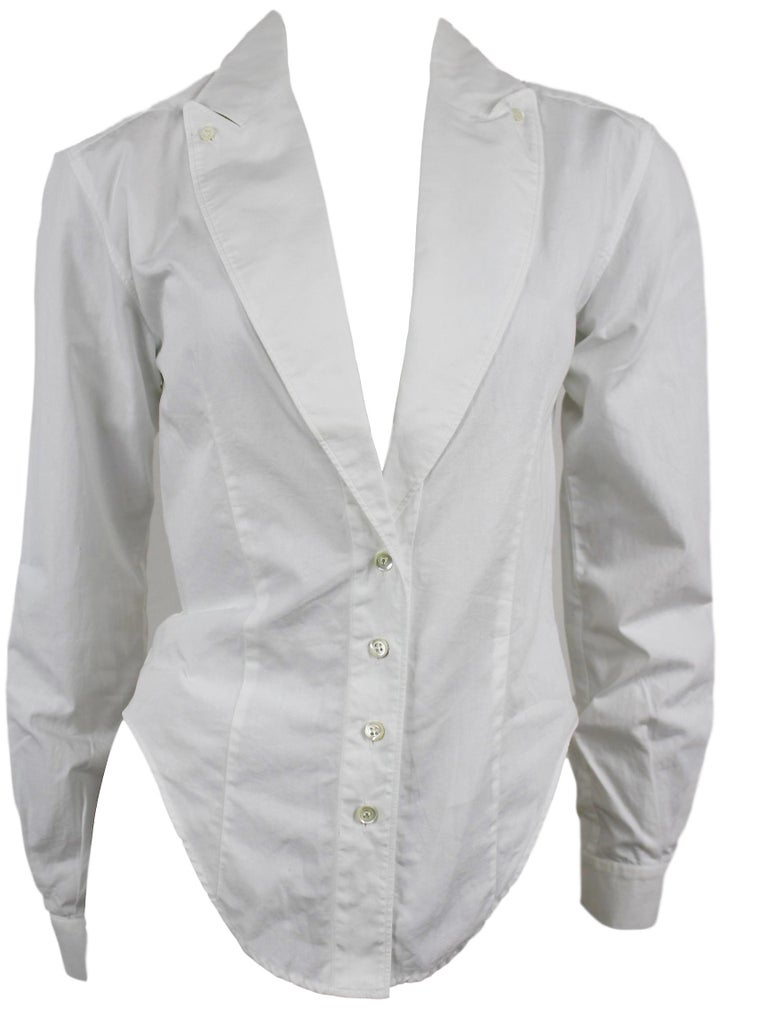 Alexander McQueen Early Collection Fitted Blouse/Jacket For Sale 3