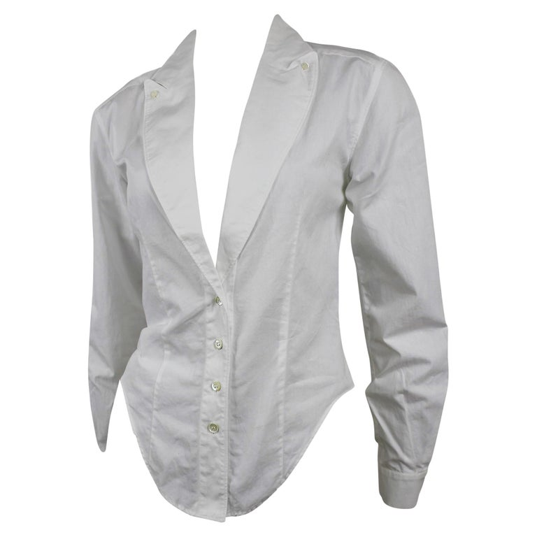 Alexander McQueen Early Collection Fitted Blouse/Jacket For Sale