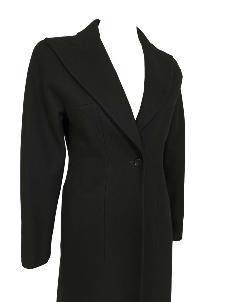 Alexander McQueen F/W 1996 Exaggerated Lapel Coat  For Sale 6