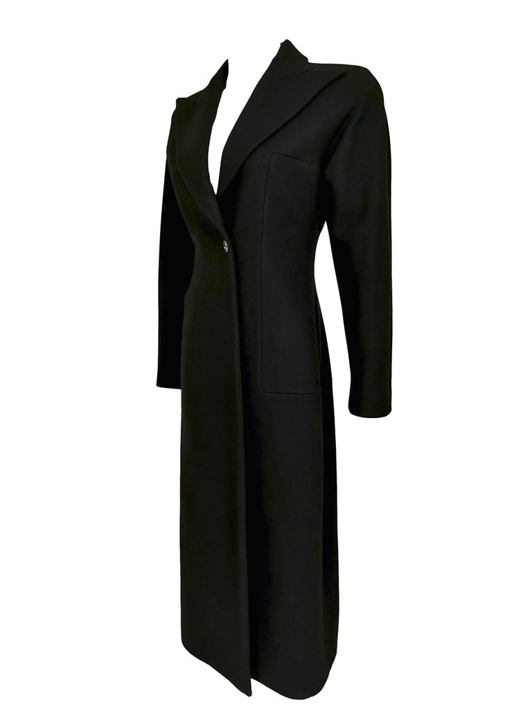Alexander McQueen F/W 1996 Exaggerated Lapel Coat  For Sale 7
