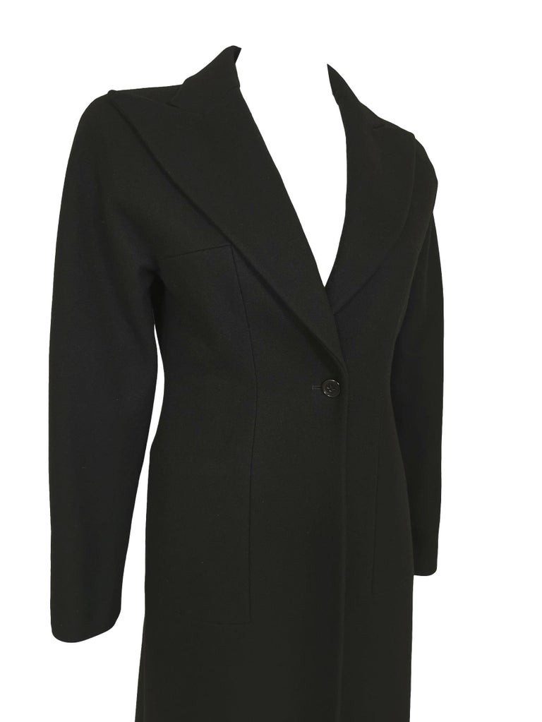Alexander McQueen F/W 1996 Exaggerated Lapel Coat  For Sale 10