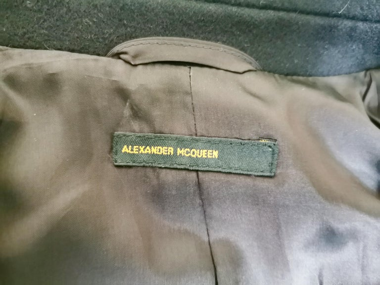Alexander McQueen F/W 1996 Exaggerated Lapel Coat  For Sale 11