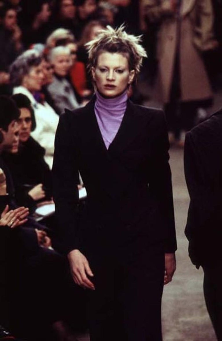 Alexander McQueen F/W 1996 Exaggerated Lapel Coat  For Sale 12
