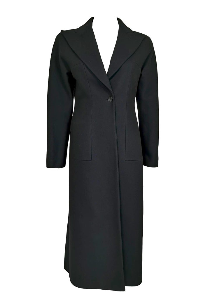 Women's Alexander McQueen F/W 1996 Exaggerated Lapel Coat  For Sale