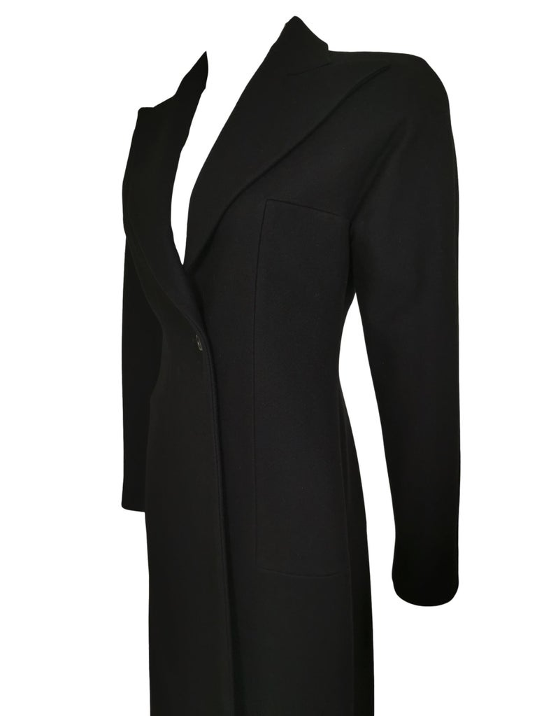 Alexander McQueen F/W 1996 Exaggerated Lapel Coat  For Sale 1