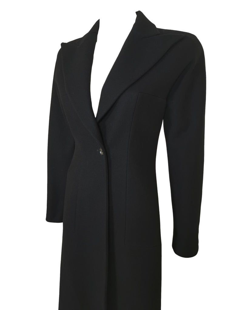 Alexander McQueen F/W 1996 Exaggerated Lapel Coat  For Sale 3