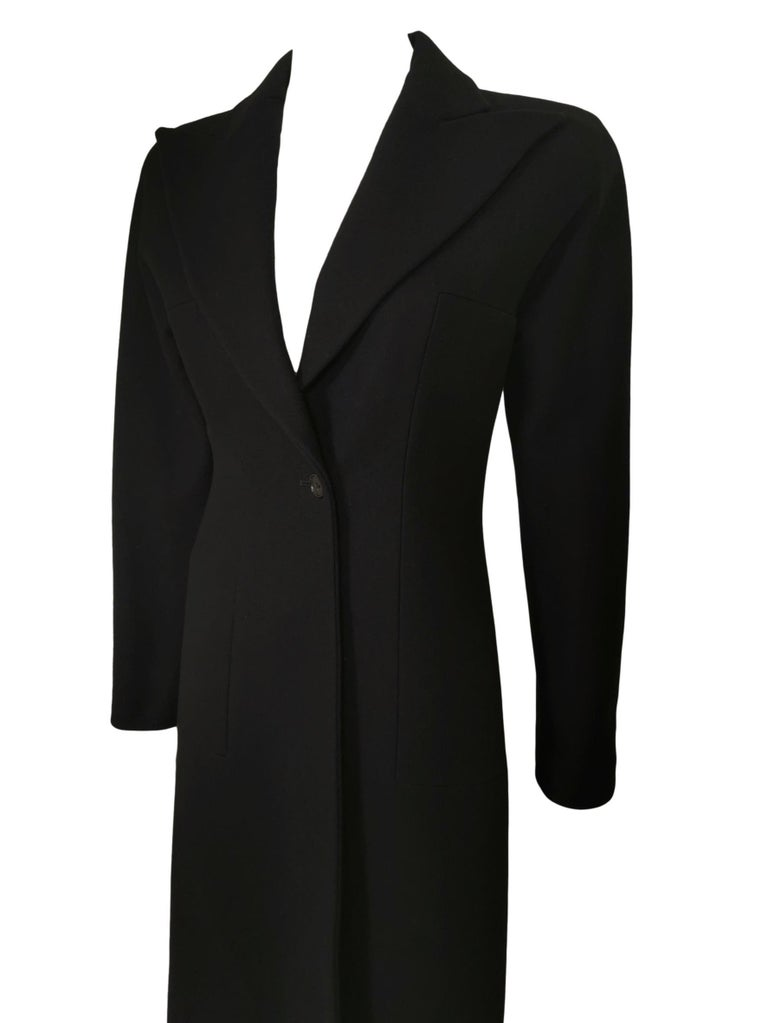 Alexander McQueen F/W 1996 Exaggerated Lapel Coat  For Sale 4