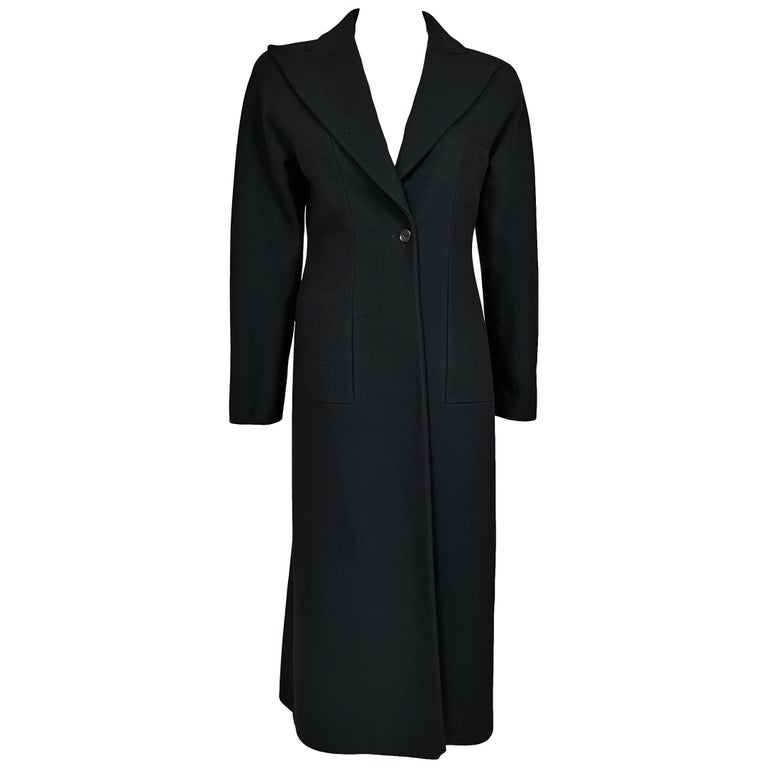 Alexander McQueen F/W 1996 Exaggerated Lapel Coat  For Sale
