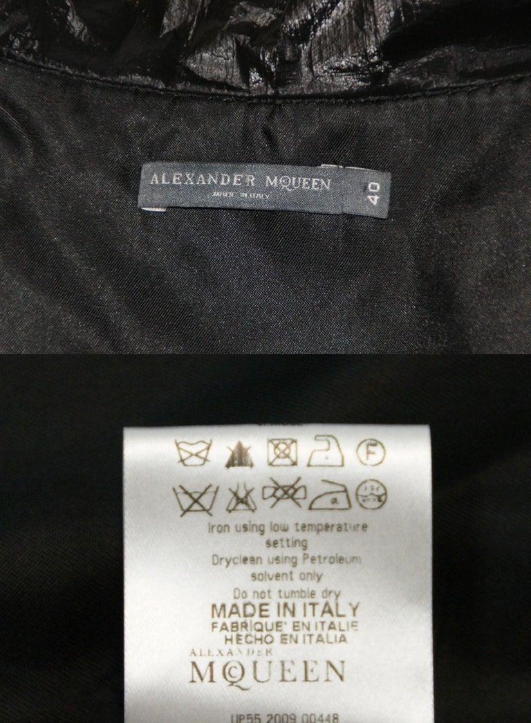 Alexander McQueen F/W 2009 Horn of Plenty Met's Punk: Chaos to Couture Coat 4