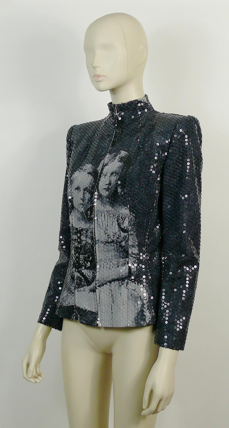 Alexander McQueen Fall Winter 1998 Imperial Romanov Princess Sequin Jacket  For Sale 1