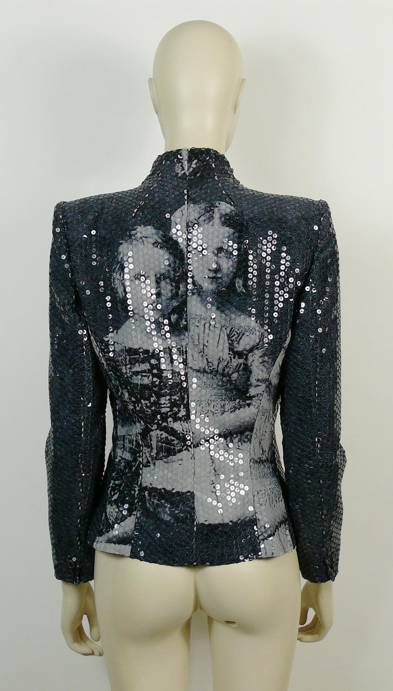 Alexander McQueen Fall Winter 1998 Imperial Romanov Princess Sequin Jacket  For Sale 2